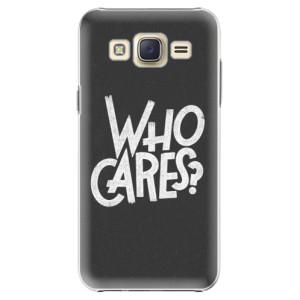 Plastové pouzdro iSaprio Who Cares na mobil Samsung Galaxy Core Prime