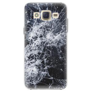 Plastové pouzdro iSaprio Cracked na mobil Samsung Galaxy Core Prime