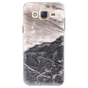 Plastové pouzdro iSaprio BW Marble na mobil Samsung Galaxy Core Prime