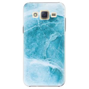 Plastové pouzdro iSaprio Blue Marble na mobil Samsung Galaxy Core Prime