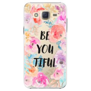 Plastové pouzdro iSaprio BeYouTiful na mobil Samsung Galaxy Core Prime