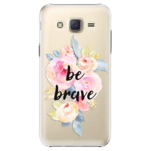 Plastové pouzdro iSaprio Be Brave na mobil Samsung Galaxy Core Prime