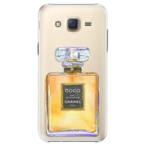 Plastové pouzdro iSaprio Chanel Gold na mobil Samsung Galaxy Core Prime