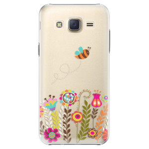 Plastové pouzdro iSaprio Bee 01 na mobil Samsung Galaxy Core Prime