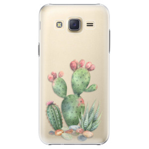 Plastové pouzdro iSaprio Cacti 01 na mobil Samsung Galaxy Core Prime