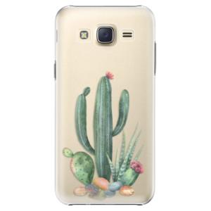 Plastové pouzdro iSaprio Cacti 02 na mobil Samsung Galaxy Core Prime