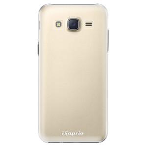 Plastové pouzdro iSaprio 4Pure mléčné bez potisku na mobil Samsung Galaxy Core Prime