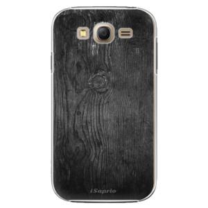 Plastové pouzdro iSaprio Black Wood 13 na mobil Samsung Galaxy Grand Neo Plus