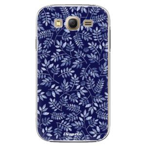 Plastové pouzdro iSaprio Blue Leaves 05 na mobil Samsung Galaxy Grand Neo Plus