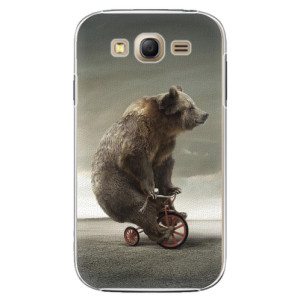 Plastové pouzdro iSaprio Bear 01 na mobil Samsung Galaxy Grand Neo Plus