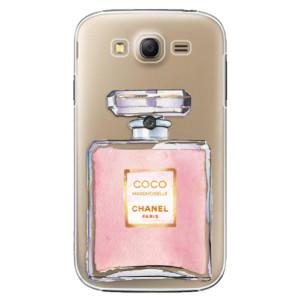 Plastové pouzdro iSaprio Chanel Rose na mobil Samsung Galaxy Grand Neo Plus