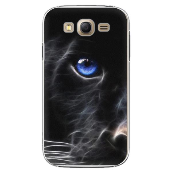 Plastové pouzdro iSaprio Black Puma na mobil Samsung Galaxy Grand Neo Plus (Plastový obal, kryt, pouzdro iSaprio Black Puma na mobilní telefon Samsung Galaxy Grand Neo Plus)