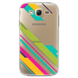 Plastové pouzdro iSaprio Color Stripes 03 na mobil Samsung Galaxy Grand Neo Plus