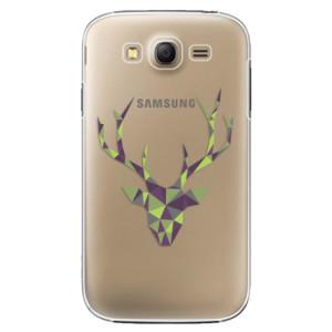 Plastové pouzdro iSaprio Deer Green na mobil Samsung Galaxy Grand Neo Plus