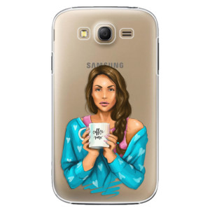 Plastové pouzdro iSaprio Coffe Now Brunette na mobil Samsung Galaxy Grand Neo Plus