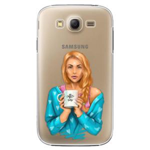 Plastové pouzdro iSaprio Coffe Now Redhead na mobil Samsung Galaxy Grand Neo Plus