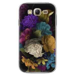 Plastové pouzdro iSaprio Dark Flowers na mobil Samsung Galaxy Grand Neo Plus