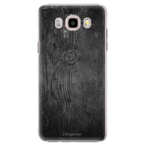 Plastové pouzdro iSaprio Black Wood 13 na mobil Samsung Galaxy J5 2016