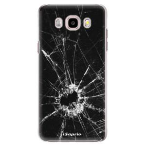 Plastové pouzdro iSaprio Broken Glass 10 na mobil Samsung Galaxy J5 2016