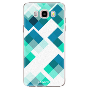 Plastové pouzdro iSaprio Abstract Squares 11 na mobil Samsung Galaxy J5 2016