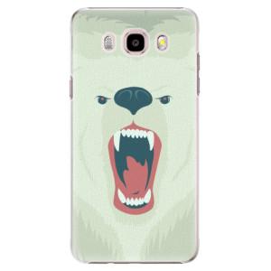 Plastové pouzdro iSaprio Angry Bear na mobil Samsung Galaxy J5 2016