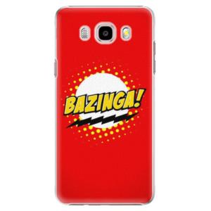 Plastové pouzdro iSaprio Bazinga 01 na mobil Samsung Galaxy J5 2016