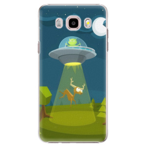 Plastové pouzdro iSaprio Alien 01 na mobil Samsung Galaxy J5 2016