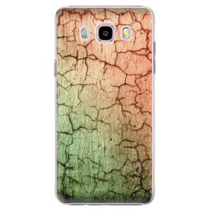 Plastové pouzdro iSaprio Cracked Wall 01 na mobil Samsung Galaxy J5 2016