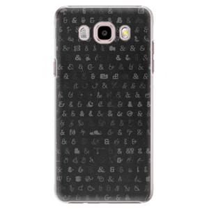 Plastové pouzdro iSaprio Ampersand 01 na mobil Samsung Galaxy J5 2016