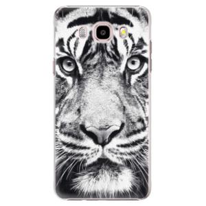 Plastové pouzdro iSaprio Tiger Face na mobil Samsung Galaxy J5 2016