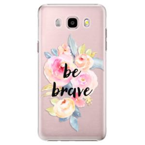Plastové pouzdro iSaprio Be Brave na mobil Samsung Galaxy J5 2016