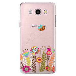 Plastové pouzdro iSaprio Bee 01 na mobil Samsung Galaxy J5 2016