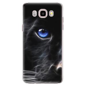 Plastové pouzdro iSaprio Black Puma na mobil Samsung Galaxy J5 2016
