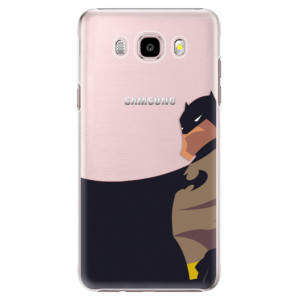 Plastové pouzdro iSaprio BaT Comics na mobil Samsung Galaxy J5 2016