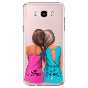 Plastové pouzdro iSaprio Best Friends na mobil Samsung Galaxy J5 2016
