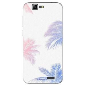 Plastové pouzdro iSaprio Digital Palms 10 na mobil Huawei G7