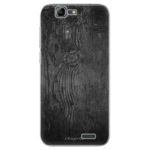 Plastové pouzdro iSaprio Black Wood 13 na mobil Huawei G7