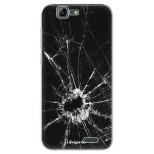 Plastové pouzdro iSaprio Broken Glass 10 na mobil Huawei G7