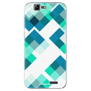 Plastové pouzdro iSaprio Abstract Squares 11 na mobil Huawei G7