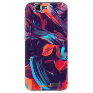 Plastové pouzdro iSaprio Color Marble 19 na mobil Huawei G7
