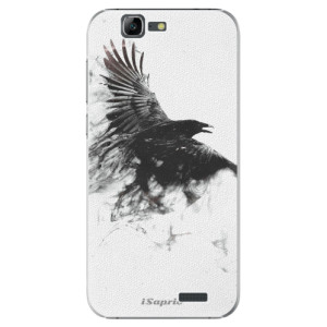 Plastové pouzdro iSaprio Dark Bird 01 na mobil Huawei G7
