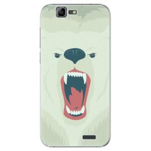 Plastové pouzdro iSaprio Angry Bear na mobil Huawei G7
