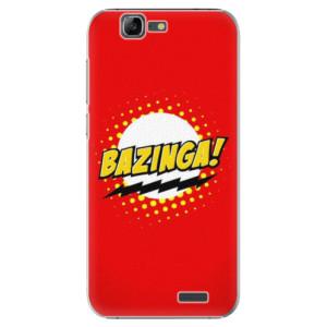 Plastové pouzdro iSaprio Bazinga 01 na mobil Huawei G7