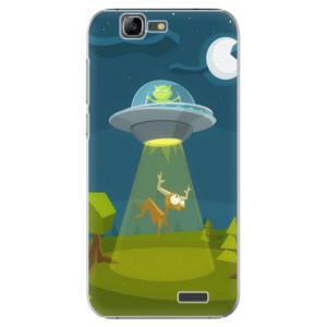 Plastové pouzdro iSaprio Alien 01 na mobil Huawei G7