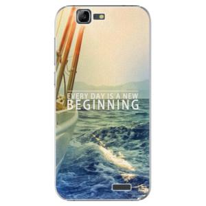 Plastové pouzdro iSaprio Beginning na mobil Huawei G7
