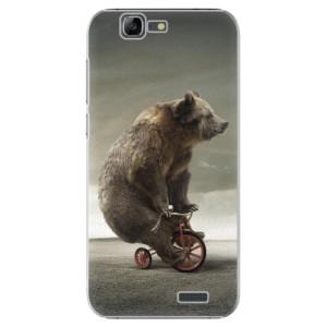 Plastové pouzdro iSaprio Bear 01 na mobil Huawei G7