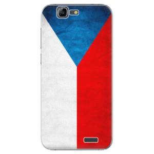 Plastové pouzdro iSaprio Czech Flag na mobil Huawei G7