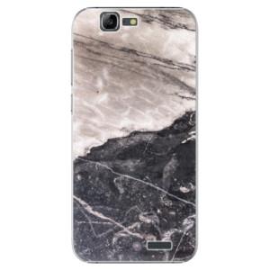 Plastové pouzdro iSaprio BW Marble na mobil Huawei G7