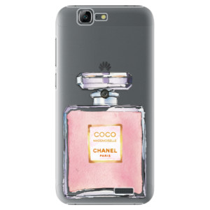 Plastové pouzdro iSaprio Chanel Rose na mobil Huawei G7