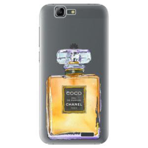 Plastové pouzdro iSaprio Chanel Gold na mobil Huawei G7
